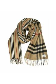 CHECK ICON STRIPE SCARF