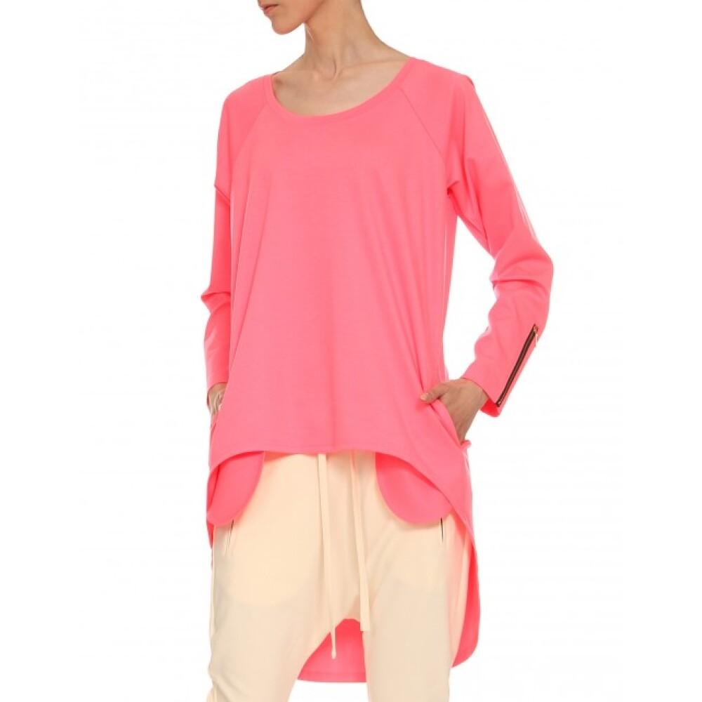 jasny róż Bluza  YULIYA BABICH  Bluzy dresowe  - Odzież Damska 2020 XbZeGDBr