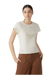 Kenzo Tiger Women's T-Shirt New Collection - Natural,