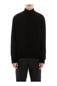 Mock neck knitwear