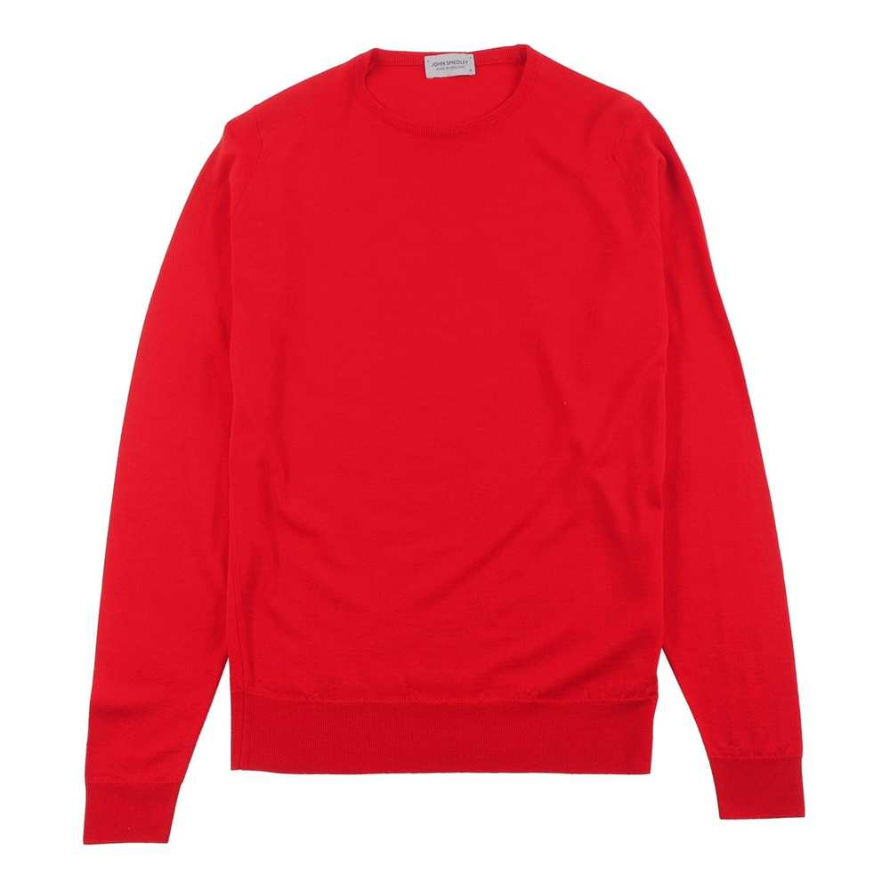 Lundy Pullover CN LS Rot