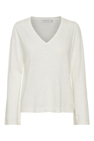Charley Flared Sleeved V-Neck Knitwear