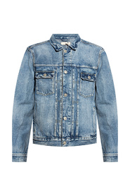 Delta stonewashed denim jacket
