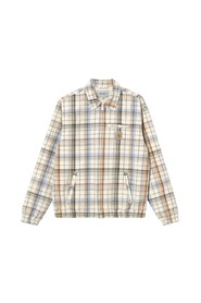 Vilay checked cotton jacket