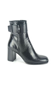 ankle boots Print Botje + Gesp 7cm