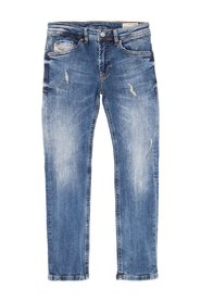 'Thommer-J' distressed jeans