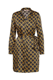 DRESS WITH CHAIN PRINT WITH