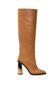 'Losange' leather boots