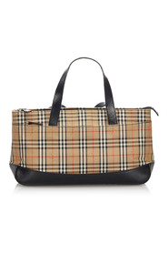 Haymarket Check Canvas Handbag