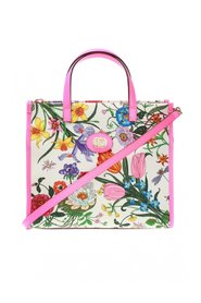 Medium flowers tote bag
