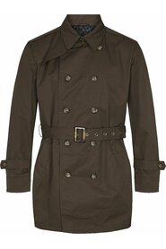 Techno Double-breasted Trench coat