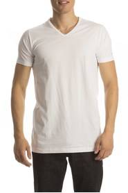Slater T-Shirt Basic Fit V-neck ( extra long)