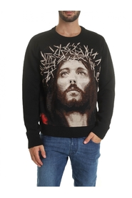 Round neck wool Jesus NMW19218 009