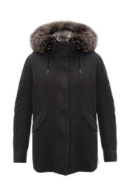 Fox fur parka