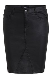 Objbelle coated skirt black - Object