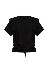 T-skjorte med knyting