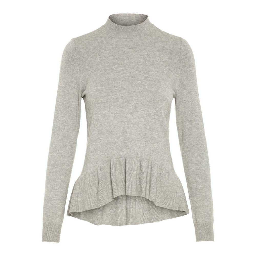 Knitted Pullover Frill