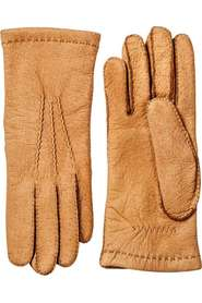 Ellegant Mens Peccary Handsewn Uld Handsker