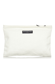 Pre-owned Canvas Clutch Bag