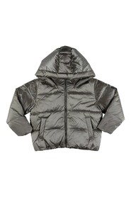 down feather jacket with hood