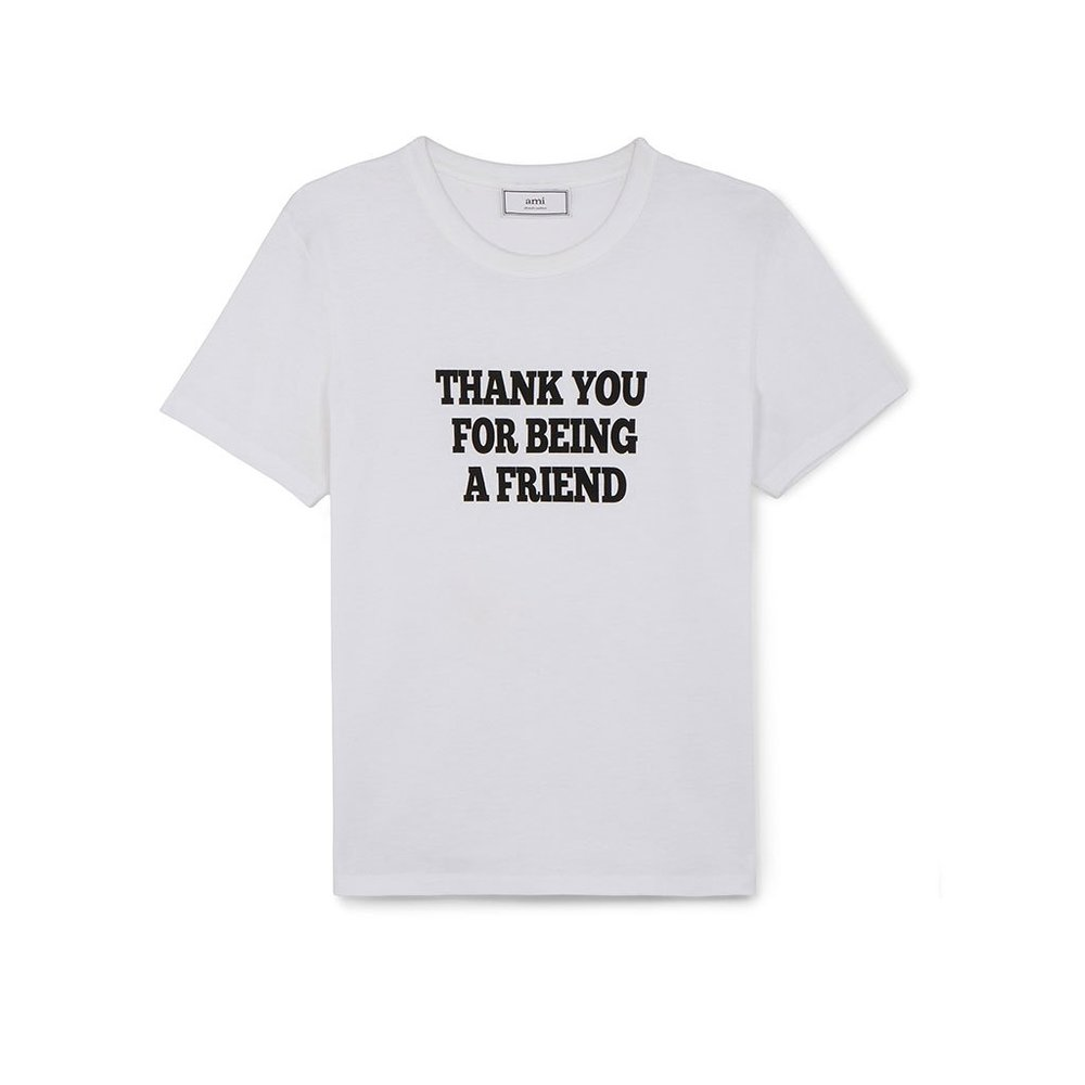T-Shirt Print Thank You For Be