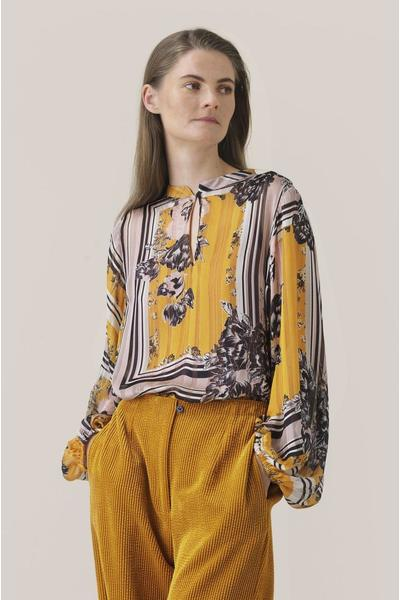 Yellow Valley Ls Blouse Second Female Blouses