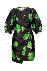 Blomster-printet kjole
