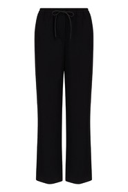 Palazzo trousers elastic waist with drawstring