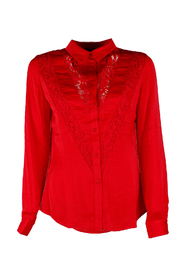 Guess dames blouses Rood