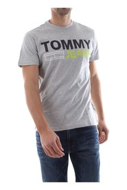 TOMMY JEANS DM0DM04528 TJM ESSENTIAL T SHIRT AND TANK Men GREY