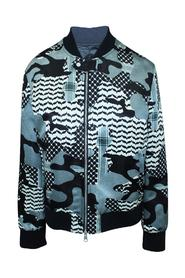 Print Bomber Jacket -Pre Owned Condition Very Good