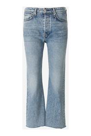 High-Rise Flare Jeans