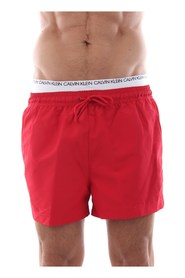 CALVIN KLEIN KM0KM00310 SHORT DOUBLE swimsuit  sea and pool Men RED
