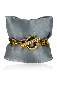 Metal Anchor Chain Toggle Bracelet