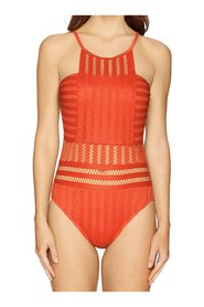 Swimwear  High Neck One Piece