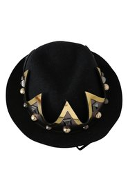 Crown Studs Fedora Hat