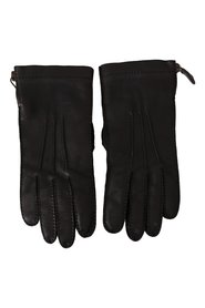 Leather Motorcycle Biker Gloves