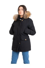 Waterproof cotton jacket with hood