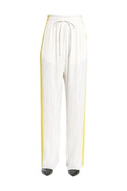 PLEATED CANIS TROUSERS