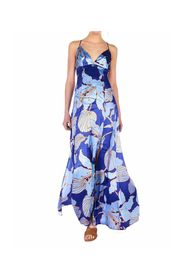 Maxi dress with floral pattern