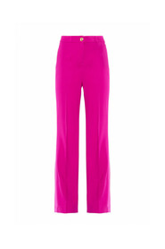 FLUID CADY FLARED TROUSERS 30BB-ETHIOPE