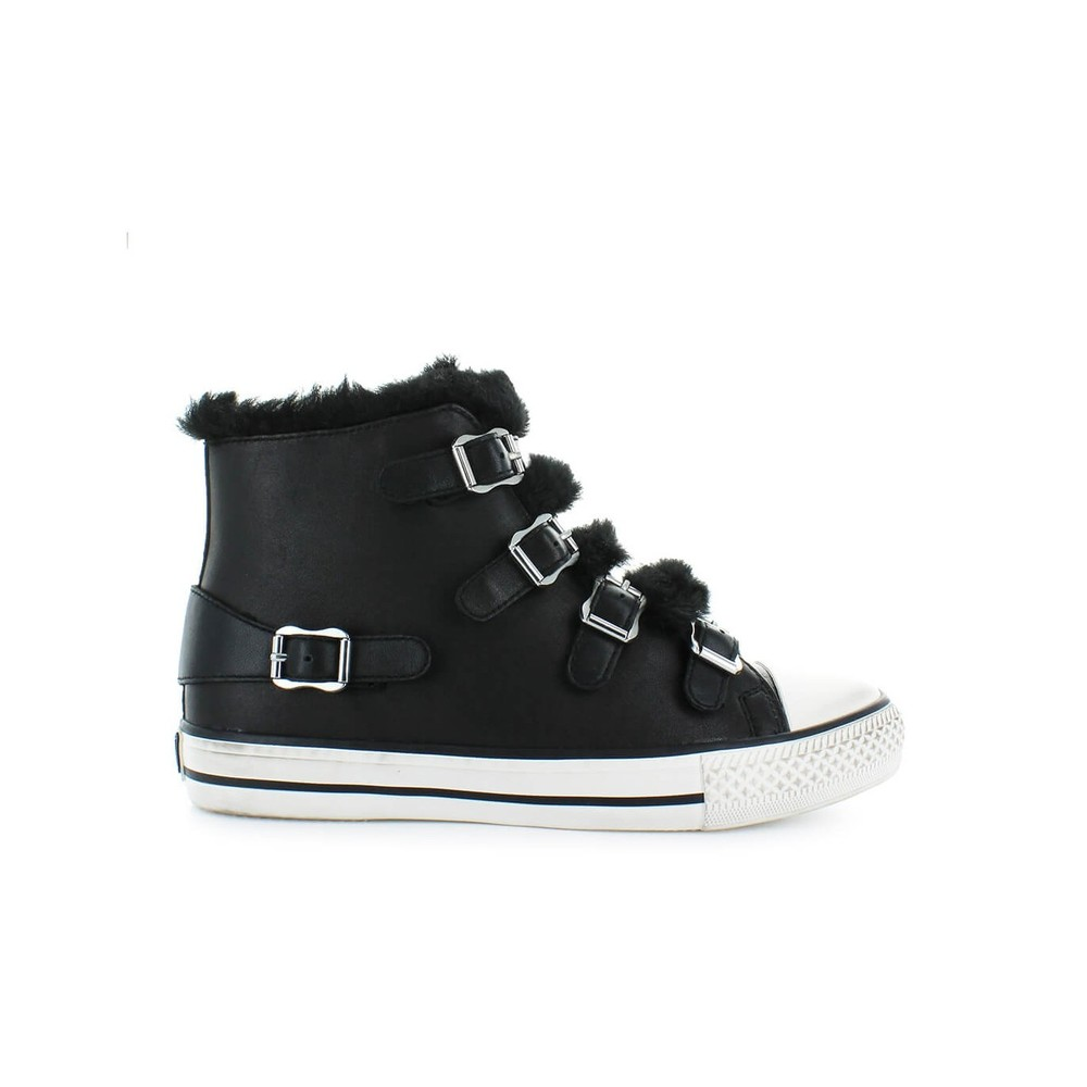 VALKO SNEAKER WITH FAUX FUR