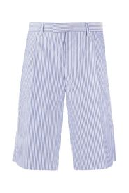 Striped Bermuda Shorts