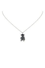 Silver Bear Necklace Metal SV925