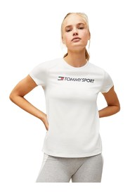 TOMMY SPORT S10S100055 TEE CHEST LOGO T SHIRT AND TANK Women WHITE