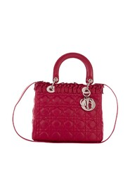 Lady Dior Bow Cannage Tote - Pre Owned staat Uitstekend
