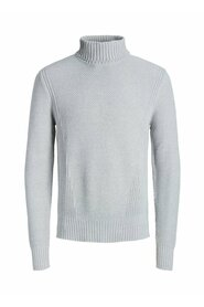 Pullover Textured roll neck