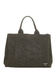 pre-owned Canapa Canvas Tote Bag