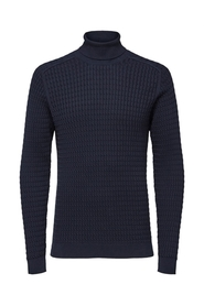 Carlos cable roll neck