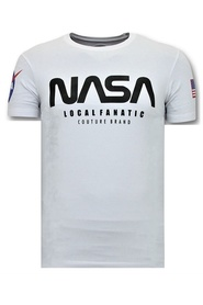 T-shirt Nasa American Flag